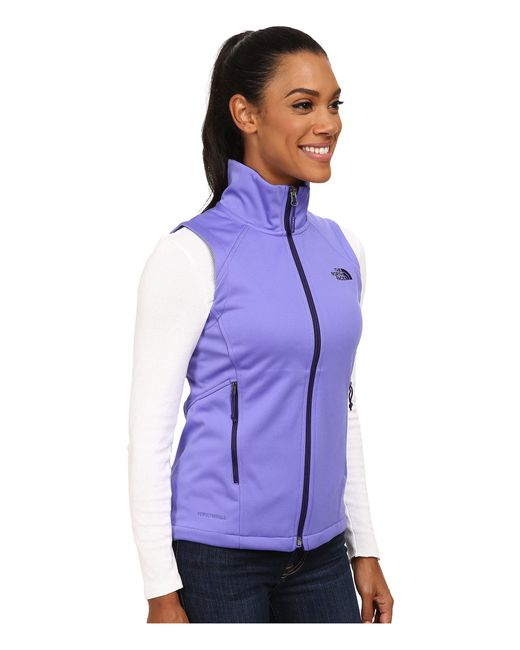 The North Face   Purple Canyonwall Vest   Lyst