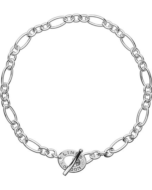 Links of London | Metallic Signature Sterling Silver Xs Charm Chain Bracelet | Lyst