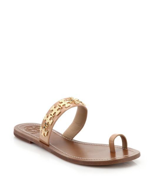 Tory Burch Val Patent Toe Ring Sandal