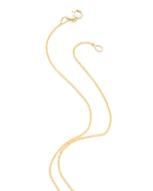 Jennifer Meyer | Metallic Diamond Pendant Necklace | Lyst