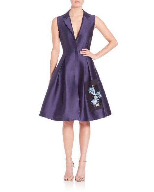 Sachin & Babi | Purple Araya Dress | Lyst