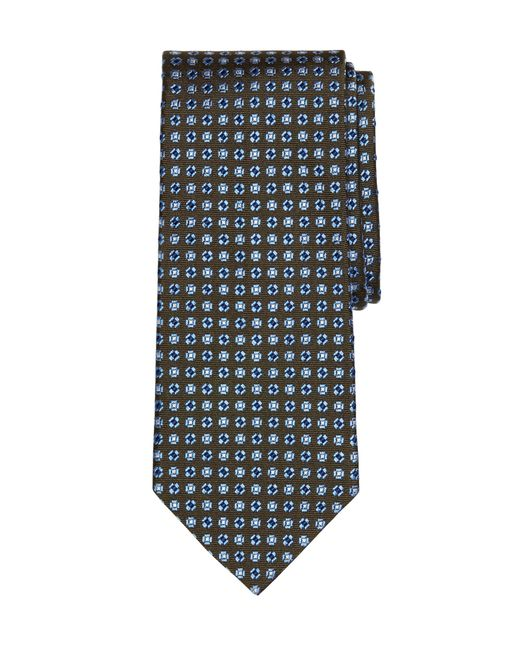 Brooks Brothers | Green Micro Flower Tie for Men | Lyst