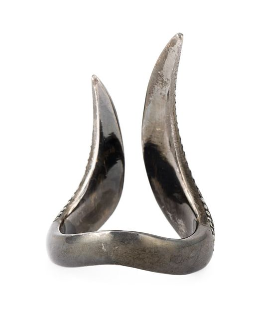 Monan | Metallic 'maleficent' Ring | Lyst