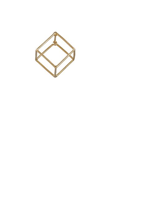 Shihara | Metallic 3d Earring Size Os | Lyst