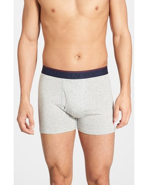 Polo Ralph Lauren | Gray Supreme Comfort 2-pack Boxer Briefs, Grey for Men | Lyst