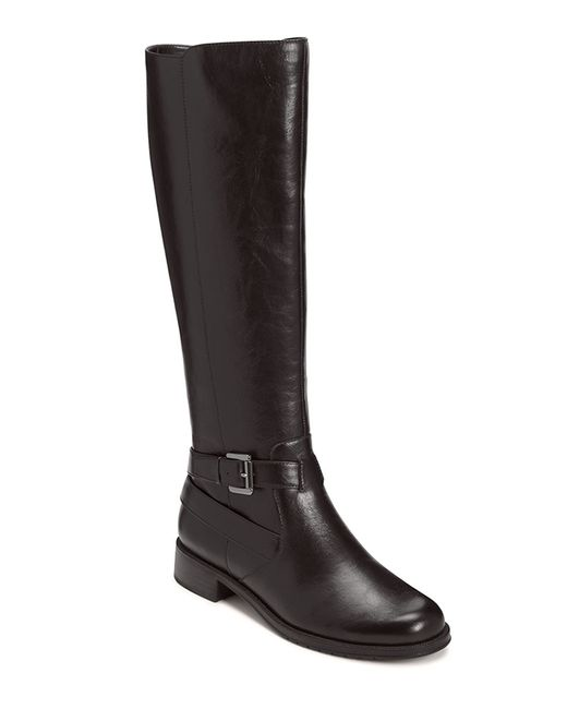 Aerosoles | Black Withpride Faux Leather Boots | Lyst
