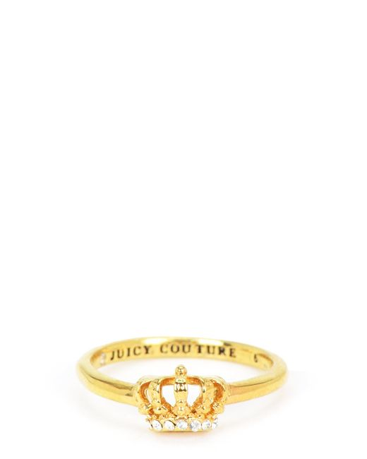 Juicy Couture   Metallic Royal Crown Ring   Lyst