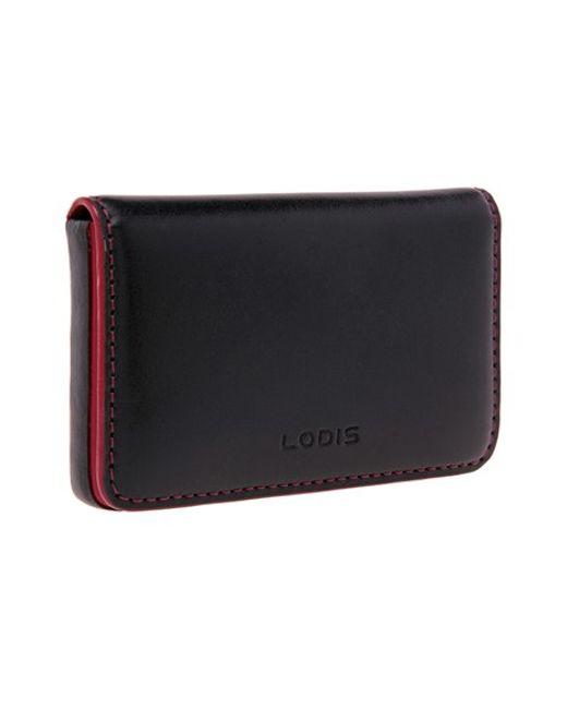 Lodis   Black Mini Card Case   Lyst