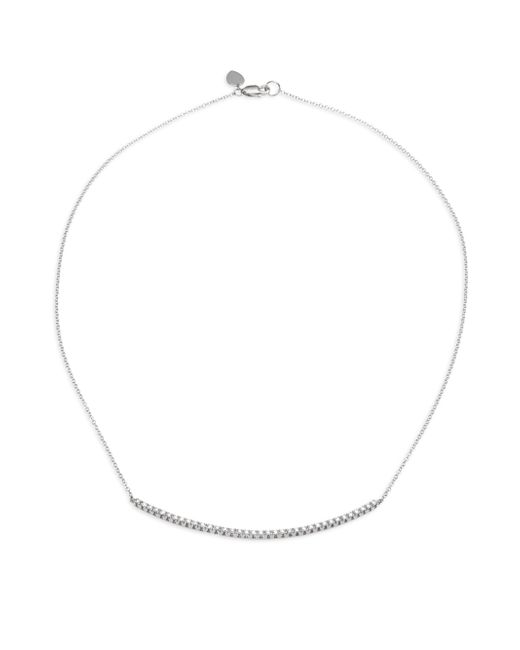 Meira T | Diamond & 14k White Gold Chain Necklace | Lyst