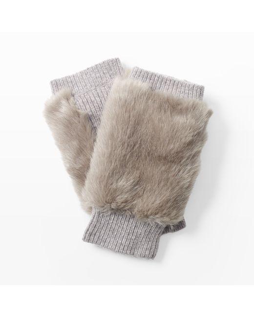 Club Monaco | Gray Feesha Textured Glove | Lyst