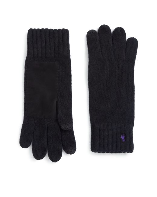 Polo Ralph Lauren | Black Cashmere Gloves for Men | Lyst