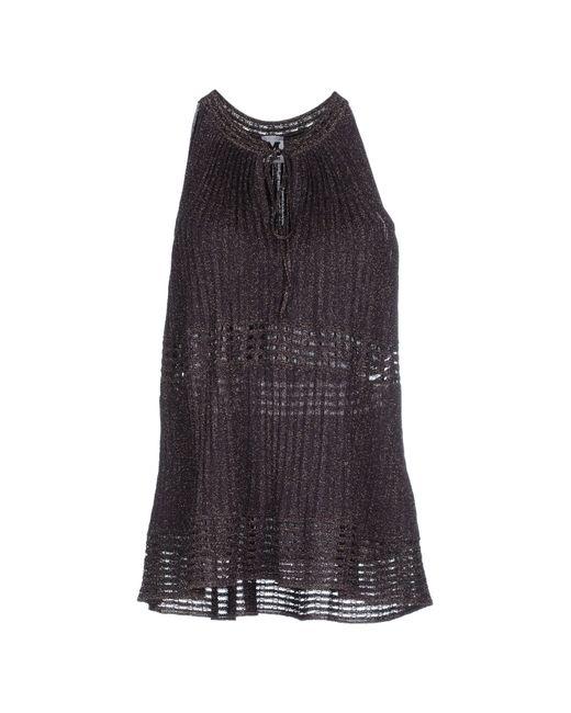 M Missoni | Purple Sweater | Lyst