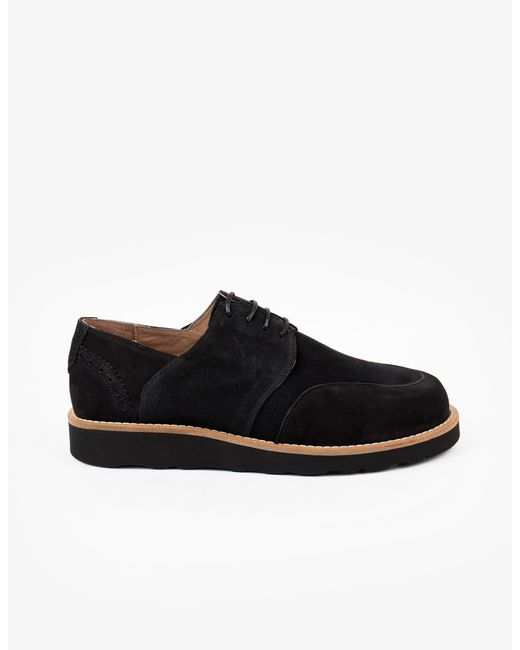 soulland tove brogue shoe in black for all black