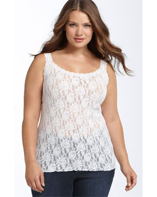 Hanky Panky | White 'signature' Lace Camisole | Lyst
