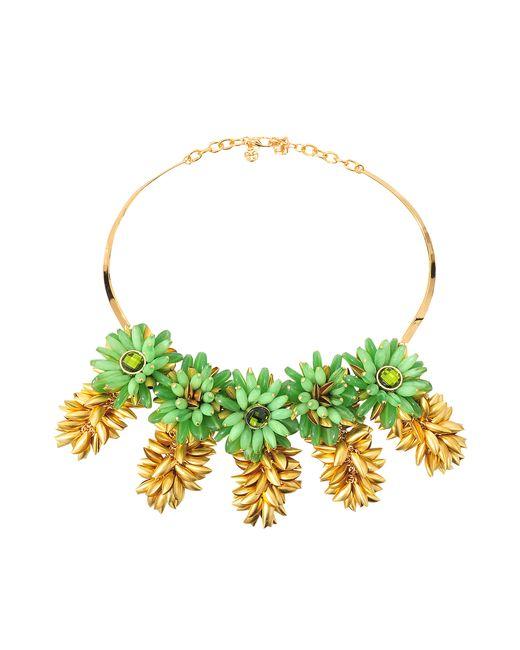 Tory Burch   Metallic Brynn Collar Necklace   Lyst