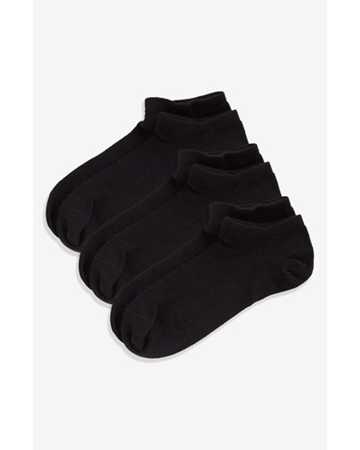 Zella | Black 'fitness' Liner Socks | Lyst