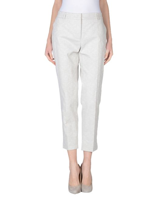 Peserico | Gray Casual Trouser | Lyst