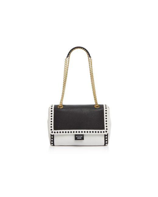 Boutique Moschino | Black Laser-cut Shoulder Bag | Lyst