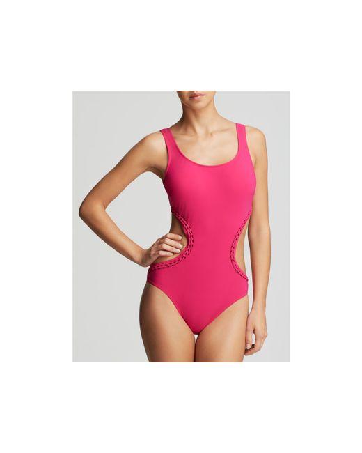 Gottex   Purple Waterfall Monokini One Piece Swimsuit   Lyst