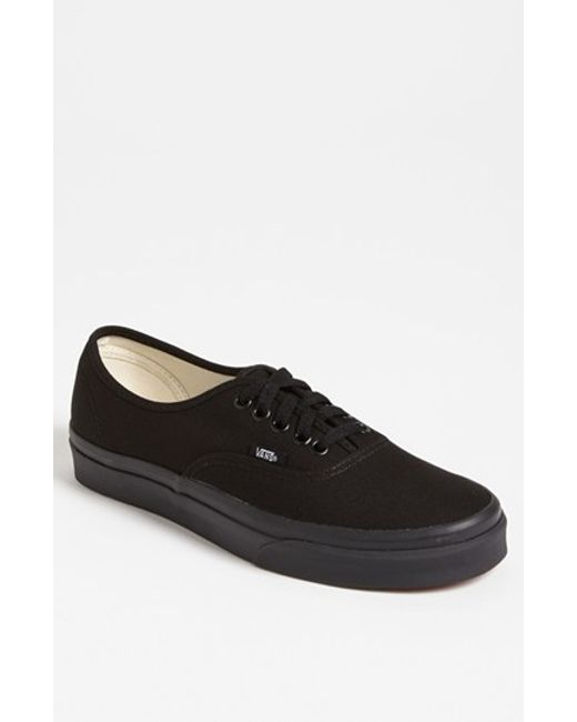Vans | Black 'authentic' Sneaker for Men | Lyst