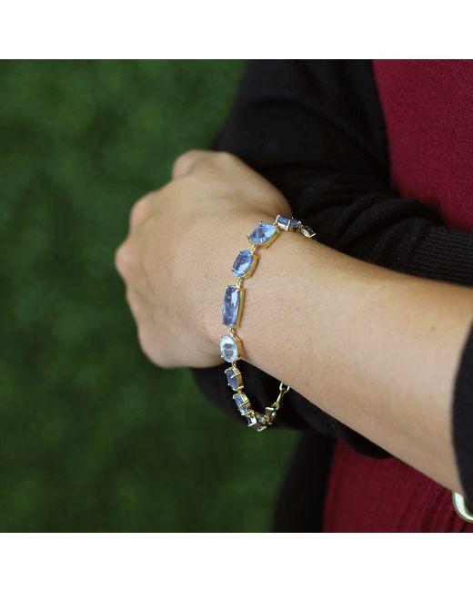 Irene Neuwirth | Blue Mixed Shape Fine Aquamarine Bracelet | Lyst