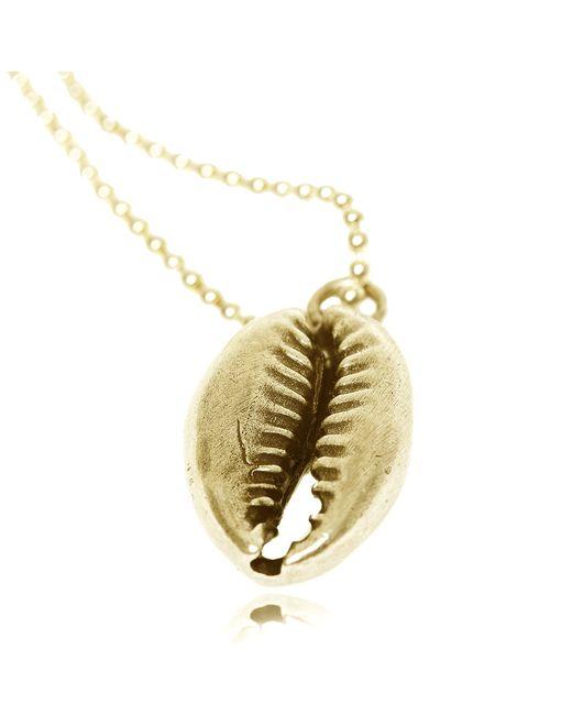 Rachael Ruddick | Metallic Shell Pendant Gold | Lyst