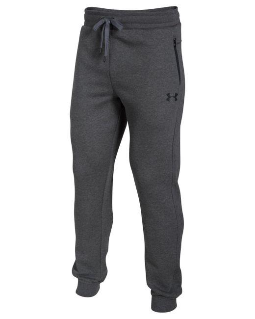 Under Armour | Gray Soho Fleece Pants for Men | Lyst