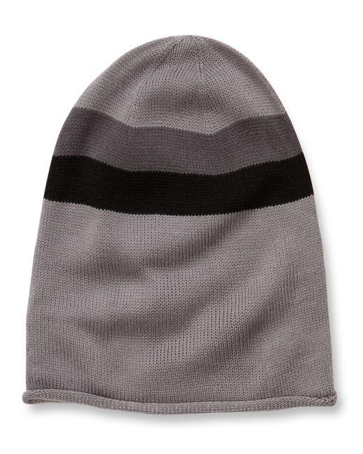 Alternative Apparel | Gray Oversized Knit Beanie | Lyst