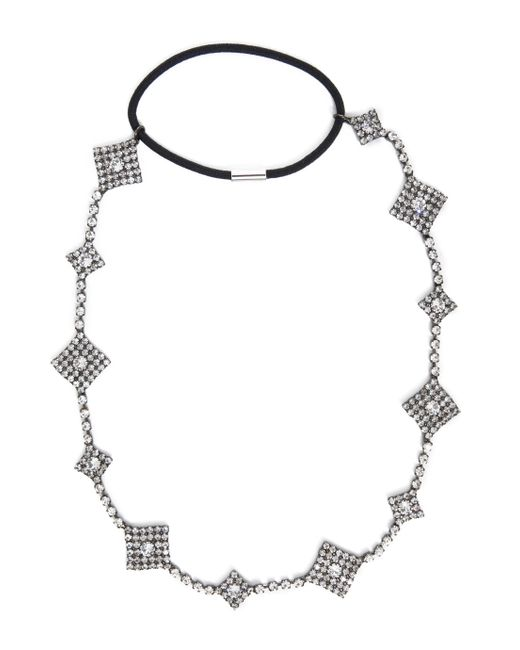 Jennifer Behr | Metallic Orion Crystal Circlet Headband | Lyst