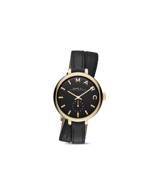 Marc Jacobs Sally Väska : Marc jacobs sally leather strap wrap watch mm