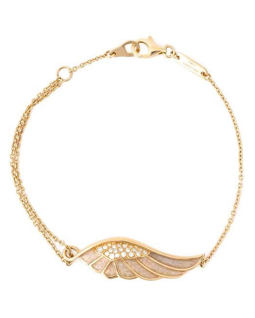 Garrard   Metallic Diamond Detail Wing Bracelet   Lyst