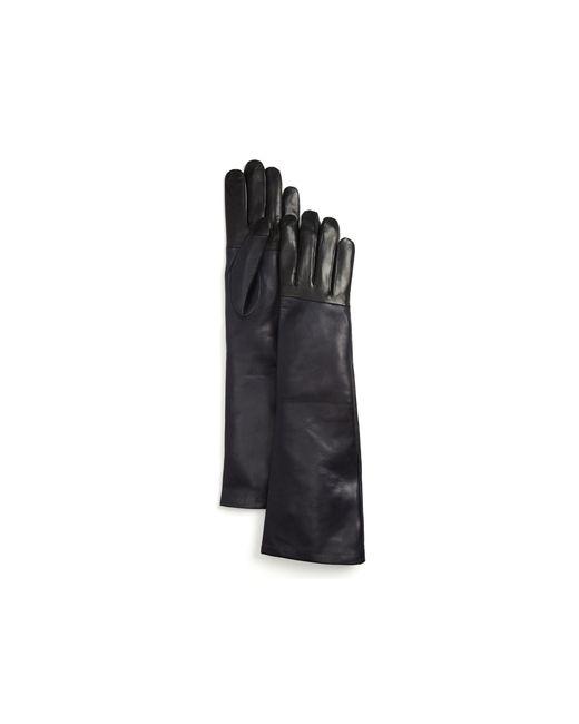 Maison Fabre | Black Two-tone Gloves | Lyst