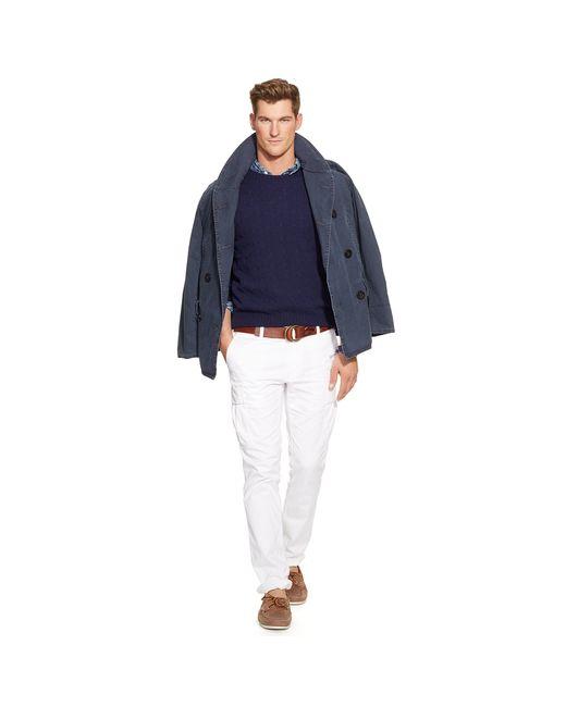 Polo Ralph Lauren | Blue Cable-knit Cashmere Sweater for Men | Lyst