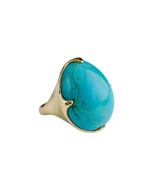 Ippolita | Blue 18k Rock Candy Crown Ring In Turquoise | Lyst