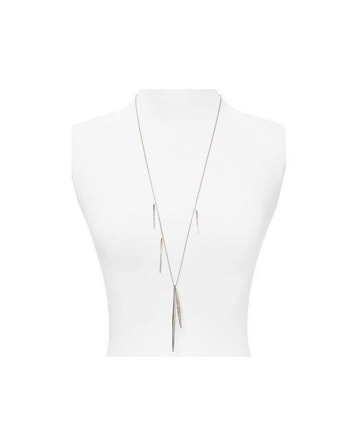 Alexis Bittar | Metallic Miss Havisham Crystal Encrusted Long Spear Necklace, 32"