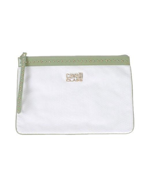 Class Roberto Cavalli | White Handbag | Lyst