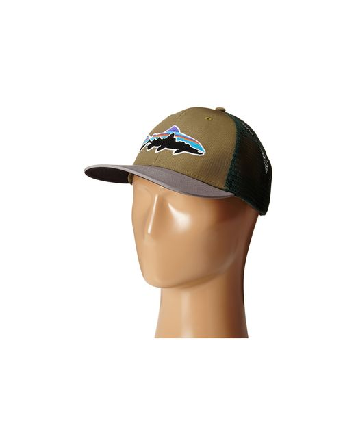 Patagonia   Natural Fitz Roy Trout Trucker Hat   Lyst