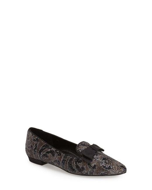 Vaneli | Black 'Gabbie' Loafer Flat | Lyst