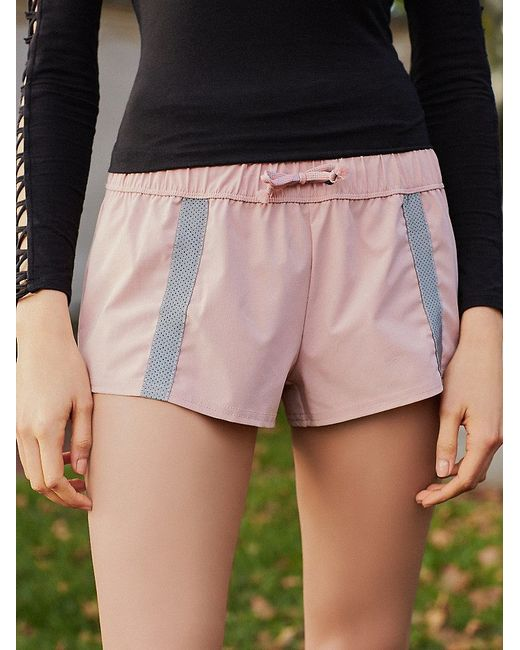 Free People | Pink Hot Trot Layered Shorts Hot Trot Layering Tank | Lyst