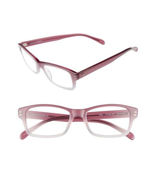 corinne mccormack jess 46mm reading glasses violet