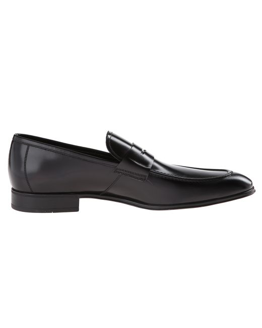 Ferragamo | Brown Rocco Leather Penny Loafer for Men | Lyst