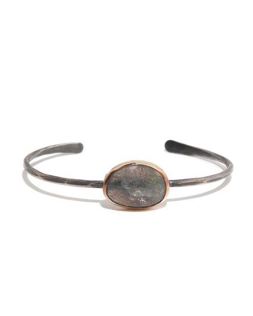 Melissa Joy Manning | Gray Freeform Labradorite Cuff Bracelet | Lyst