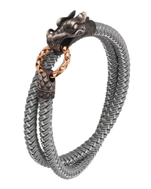 John Hardy | Gray Naga Nylon Cord Wrap Bracelet for Men | Lyst