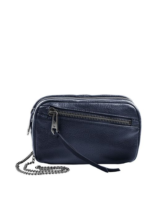 Linea Pelle | Blue Wyatt Crossbody Bag | Lyst