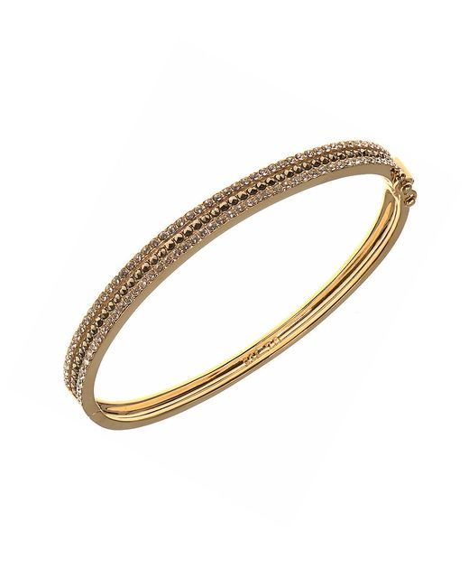 Judith Jack | Metallic Crystal, Marcasite And Goldplated Sterling Silver Bangle Bracelet | Lyst