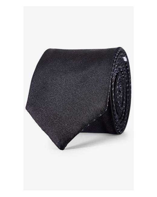 Express | Black Reversible Slim Silk Tie for Men | Lyst
