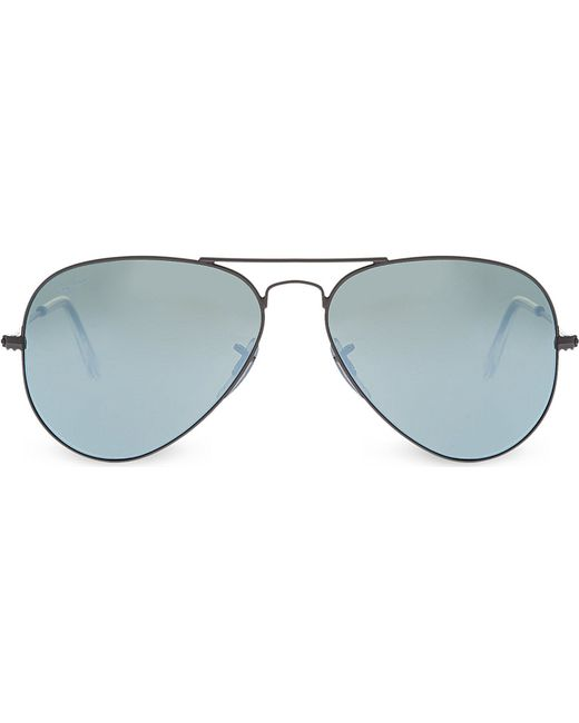 Ray-ban Metal-frame Sunglasses Rb3025 in Green Lyst