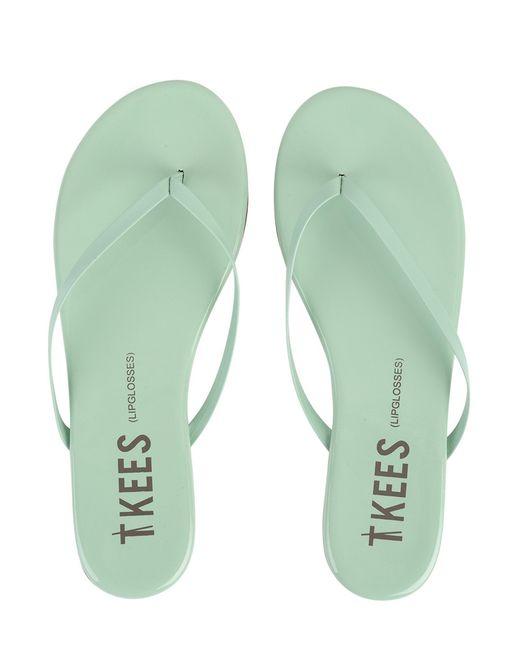 Tkees Flip Flops Lip Glosses In Green  Lyst-8090