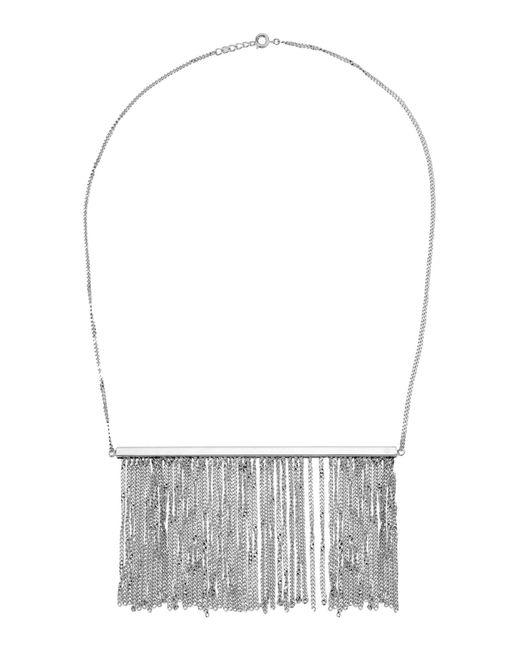 MM6 by Maison Martin Margiela | Metallic Necklace | Lyst