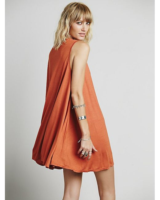 Free People | Red Lalelei Tunic | Lyst